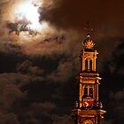 Westerkerk By Night by sceneryphotosto