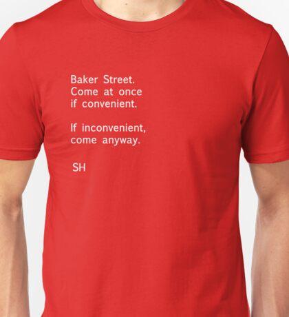 Sherlock Messages - 8 T-Shirt