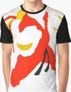 Ken silhouette/cutout (Street fighter) Graphic T-Shirt