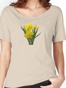 Three Daffodils Standing Guard Women's Relaxed Fit T-Shirt