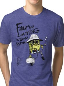Fear and Loathing in Bikini Bottom Tri-blend T-Shirt