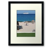 Lineas's mariachi bands Framed Print