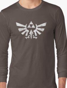 Zelda Triforce Symbol Long Sleeve T-Shirt