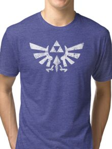 Zelda Triforce Symbol Tri-blend T-Shirt