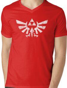 Zelda Triforce Symbol Mens V-Neck T-Shirt