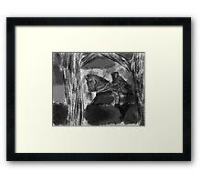 The Dark Horseman Framed Print