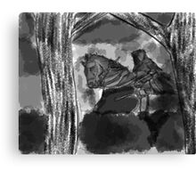 The Dark Horseman Canvas Print