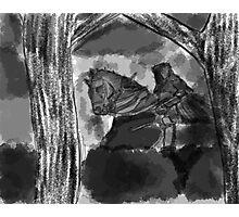 The Dark Horseman Photographic Print