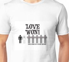 Love Won Unisex T-Shirt