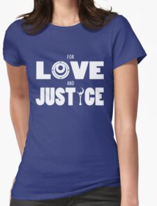 Sailor Moon - FOR LOVE AND JUSTICE (Light on Dark) T-Shirt