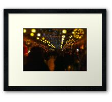 The Renaissance Sukiennice (Cloth Hall, Drapers' Hall) in Kraków, Poland.  Welcome, welcome to CRACOW . by Brown Sugar . 28th December 2011. Merry Christmas. Framed Print