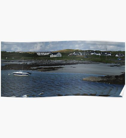 Windy Day at Rossbeg Poster