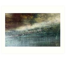 OIL ABSTRACT #110 Art Print