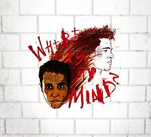 Where is my Mind? (variant - red) by huckblade