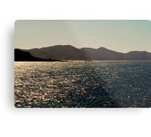 great lakes tasmania Metal Print