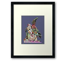 Graffiti angel Framed Print