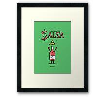 The Legend of Salsa Framed Print