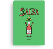 The Legend of Salsa Canvas Print