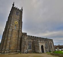 Dartmoor: St Andrew's Church, South Tawton by Rob Parsons