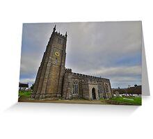 Dartmoor: St Andrew's Church, South Tawton Greeting Card