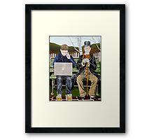 Generation Gap Framed Print