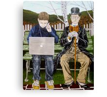 Generation Gap Canvas Print