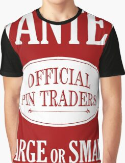 Wanted: Official Pin Traders Graphic T-Shirt