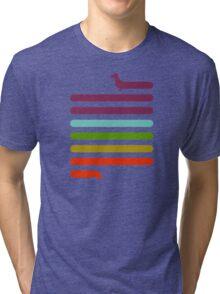 (Very) Long Dachshund Tri-blend T-Shirt