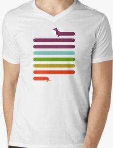 (Very) Long Dachshund Mens V-Neck T-Shirt