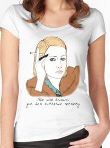 Margot Tenenbaum Women's Fitted Scoop T-Shirt