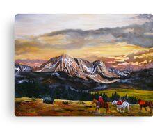 Elk Hunting Canvas Print