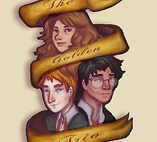 The Golden Trio by LuanneRare