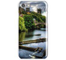 River Wear At Durham iPhone Case/Skin