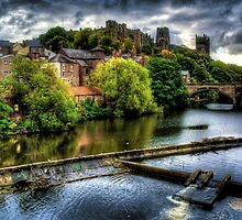 River Wear At Durham by Andrew Pounder