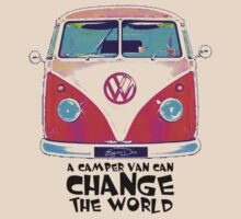 A VW Camper Van Can Change The World by eyevoodoo