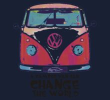 A VW Camper Van Can Change The World One Piece - Short Sleeve