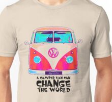 A VW Camper Van Can Change The World Unisex T-Shirt