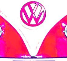 A VW Camper Van Can Change The World Sticker