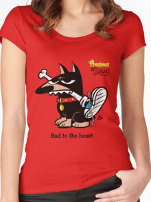 Scorch - Bad to the Bone Women's Fitted Scoop T-Shirt