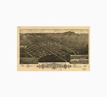 Vintage Pictorial Map of Helena Montana (1883) Unisex T-Shirt