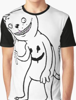 Creepy Cat Graphic T-Shirt