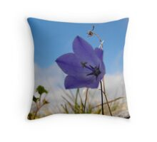 Wildflowers. The Burren County Clare Ireland Throw Pillow