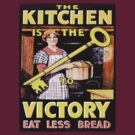 Kitchen is the Key to Victory by BettyBanana