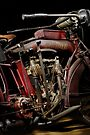1915 Indian Hedstrom Engine by Frank Kletschkus