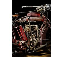1915 Indian Hedstrom Engine Photographic Print