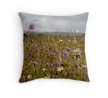 Summer in the Burren Throw Pillow