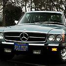 1975 Mercedes 450SLC  by Daniel  Oyvetsky