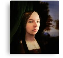 The Lady Knows Canvas Print