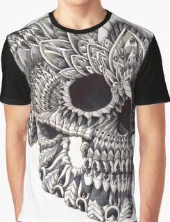 Ornate Skull Graphic T-Shirt