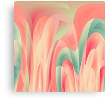 Abstract color harmony Canvas Print